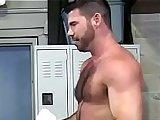 ass, athletic, big ass, big cock, brunette, condom, dick, fuck