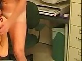 gay, muscle, office, stud