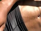 ass, ebony, gay, massage, muscle, outdoor, public, sex