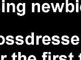 crossdresser, gay, sissy